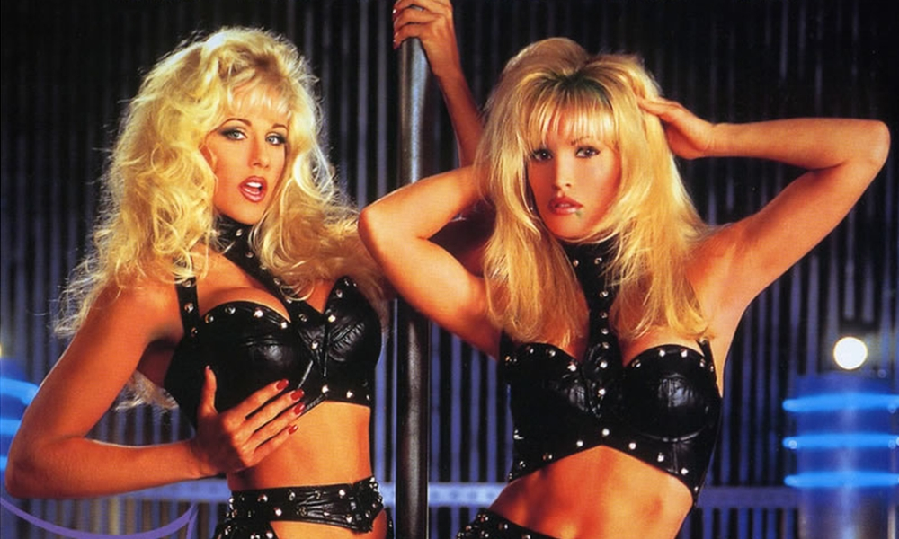 Julia Ann and Janine in Vivid's Blondage, 1998
