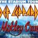 Def Leppard Motley Crue Poison tour dates