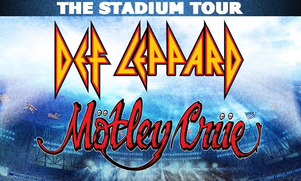 Def Leppard Motley Crue Poison stadium tour