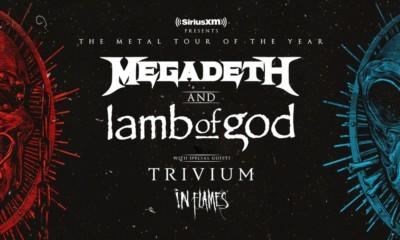 Megadeth Lamb Of God 2020 tour