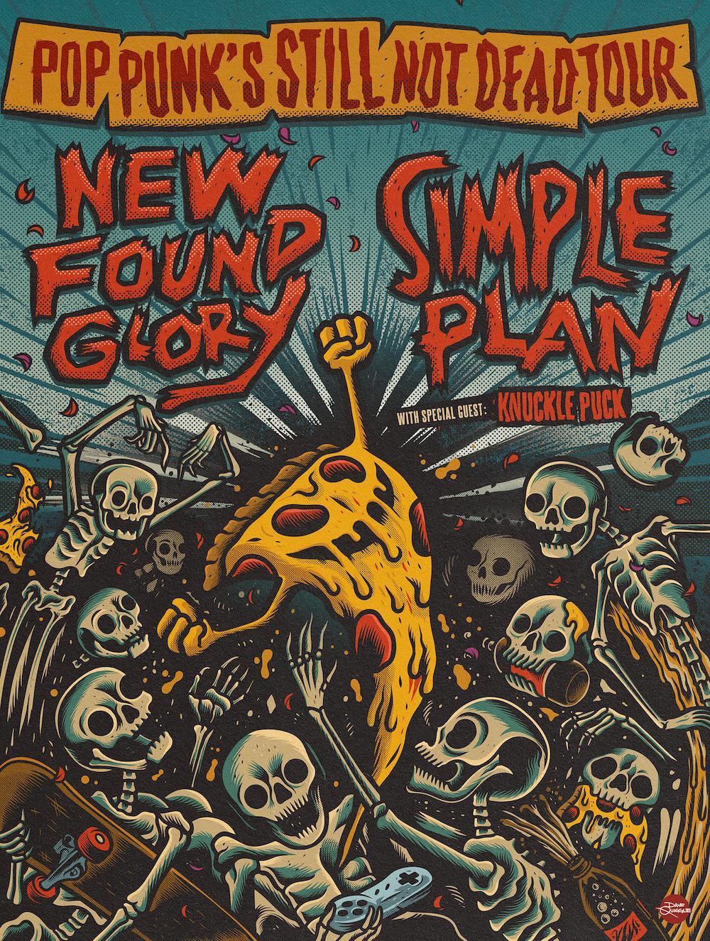 New Found Glory Simple Plan tour 2020
