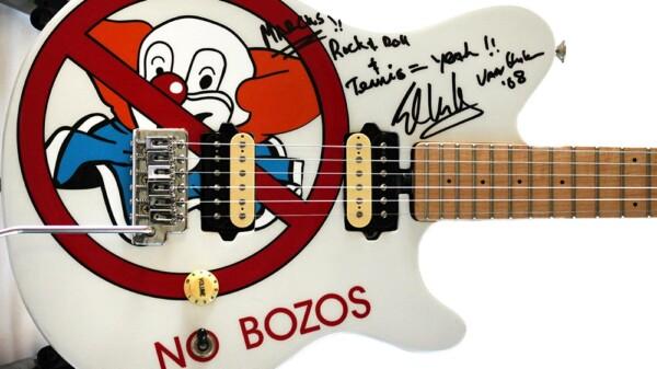 Van Halen auctions